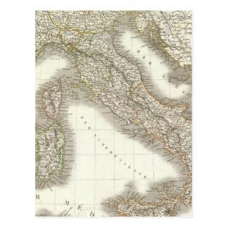 L'Italie - carte de l'Italie Carte Postale