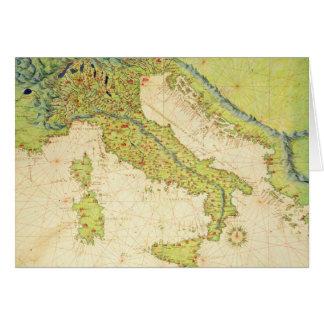 L'Italie Cartes