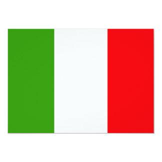 L'Italie Carton D'invitation 12,7 Cm X 17,78 Cm