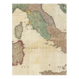 L'Italie composée 2 Carte Postale