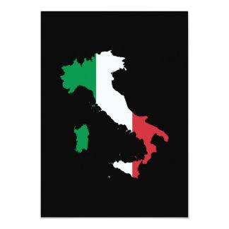 L'Italie dans des couleurs de drapeau