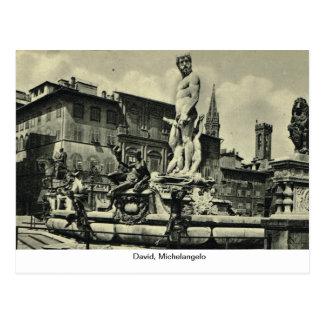 L'Italie, Florence, Firenze, 1908, David, Michaël  Carte Postale