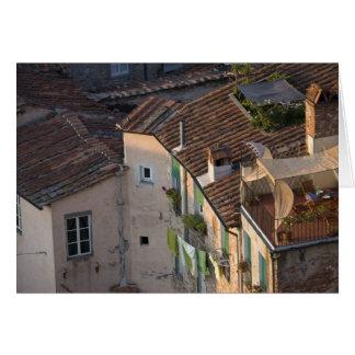 L'Italie, la Toscane, Lucques, la vue de la ville Carte De Vœux