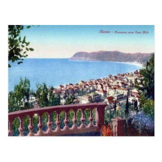 L'Italie, l'Alassio, la baie et la ville Cartes Postales