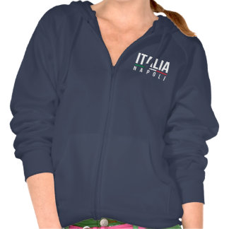 L'Italie Napoli Sweatshirts Avec Capuche