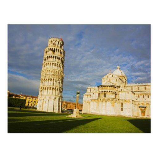 L'Italie, Pise, le Duomo et la tour penchée, Pise, Carte Postale