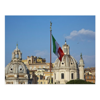 L'Italie, Rome. Drapeau italien Carte Postale