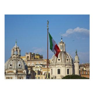 L'Italie, Rome. Drapeau italien Cartes Postales