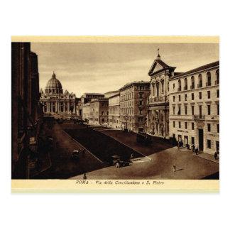 L'Italie, Rome, la basilique du Pater de St Carte Postale