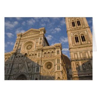 L'Italie, Toscane, Florence. Le Duomo. Carte De Vœux