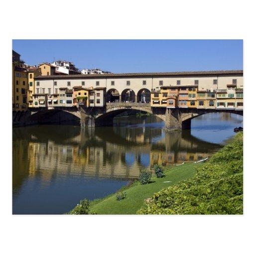 L'Italie, Toscane, Florence, le Ponte Vecchio 2 Cartes Postales