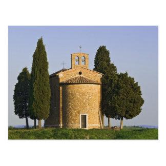 L'Italie, Toscane. Plan rapproché de chapelle de Carte Postale
