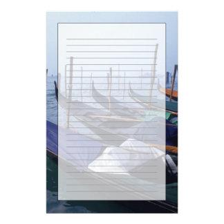 L'Italie, Venise. Gondoles Papeterie