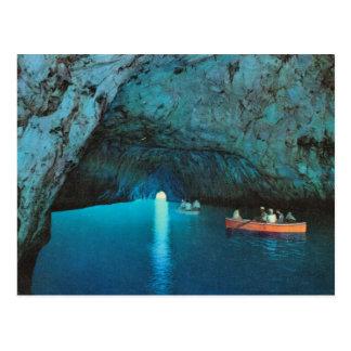 L'Italie vintage, Capri, grotte bleue Carte Postale