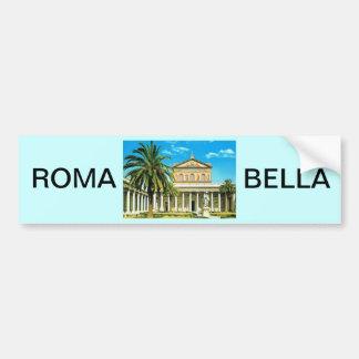 L'Italie vintage, Rome, les Mura de fuori de S Pau Autocollant Pour Voiture