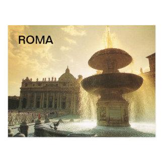L'Italie vintage, Rome, Vatican, St Peter Carte Postale