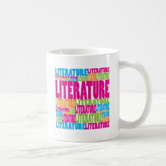 Littérature colorée mug