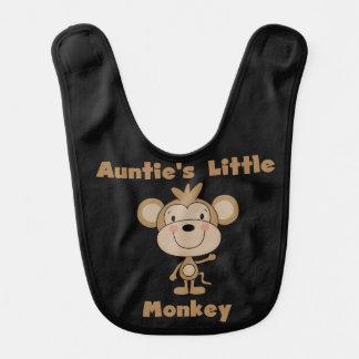 Little Monkey Bib de tante Bavoir