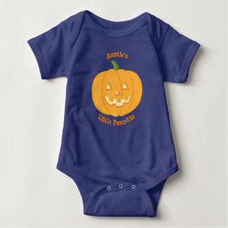 Little Pumpkin Baby Vest de tante Body