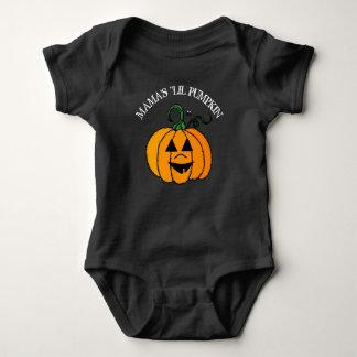 Little Pumpkin Halloween Shirt de maman Body