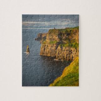 Littoral de l'Irlande au coucher du soleil Puzzle