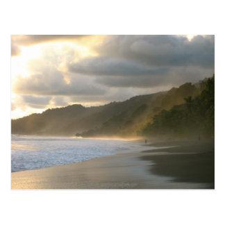 Littoral de parc national de Cocovado Carte Postale