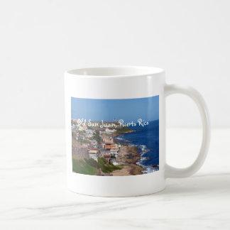 Littoral de vieux San Juan, Porto Rico Mug