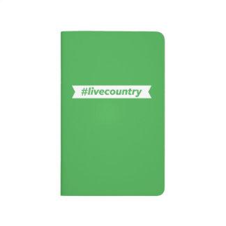 #LiveCountry Carnet De Poche