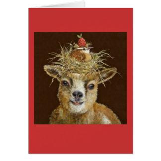 Livin haut sur la carte de chèvre