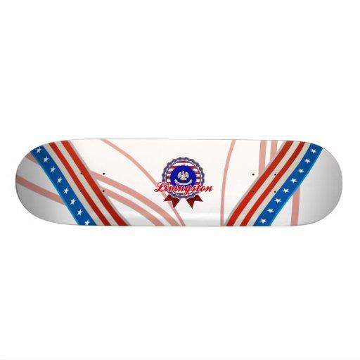 Livingston, LA Skateboards Personnalisés