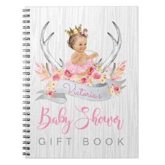 Livre de cadeau tribal d'invité de baby shower