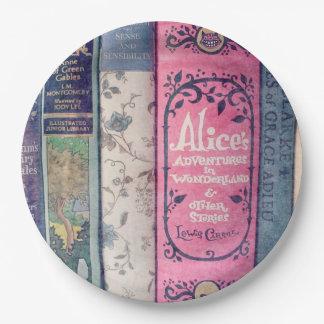 Livre de contes/Alice dans la plaque à papier du Assiettes En Papier