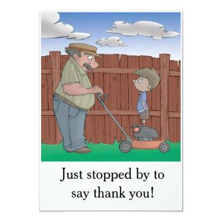 Livre de hoquet - carte de remerciements (carte