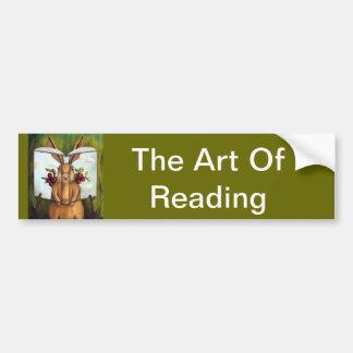 Livre d'histoire de lapin des secrets 4-The Autocollant De Voiture
