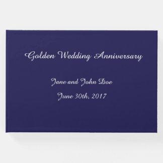 Livre d'invité d'anniversaire de mariage