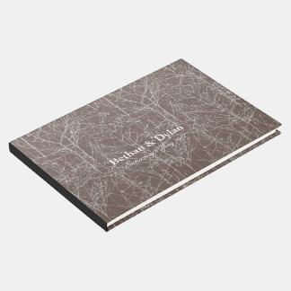 "Livre d'invité de ""arbre"" de truffe"