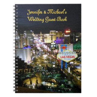 Livre d'invité de mariages de Las Vegas Carnet À Spirale