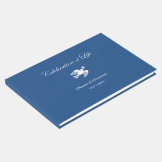 Livre D'or Célébration commémorative de colombe de paix de la