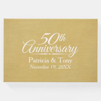 Livre D'or cinquantième Anniversaire de mariage - arrière -