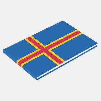 Livre D'or Drapeau d'îles d'Aland
