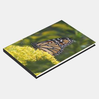 Livre D'or Guestbook de mariage de papillon de monarque