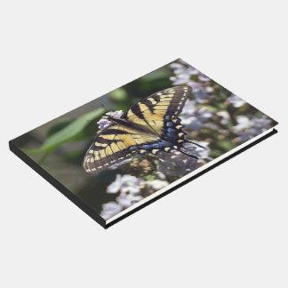 Livre D'or Guestbook de papillon de machaon de tigre
