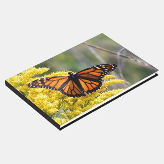 Livre D'or Guestbook personnalisé de mariage de papillon de