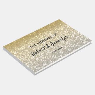 Livre D'or Mariage élégant de cristaux de parties