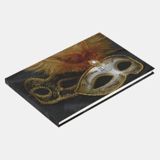Livre D'or Mascarade vénitienne de masque de carnaval d'or
