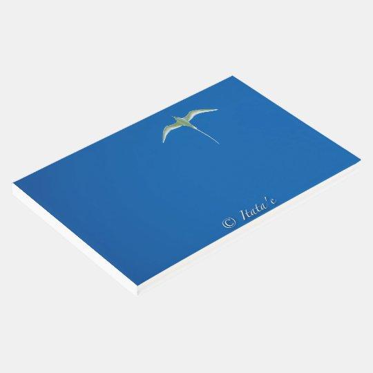 "Livre D'or ""Oiseau blanc de Tahiti"""