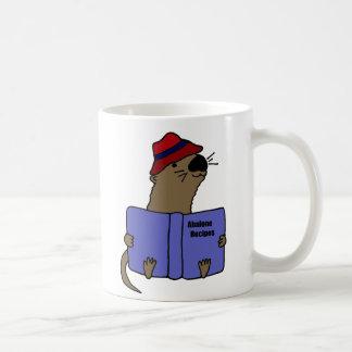 Livre drôle de recette d ormeau de lecture de lout tasse à café