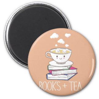Livres + Aimant de thé