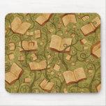 Livres (couleur 3) tapis de souris