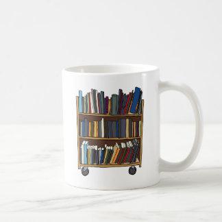 Livres de bibliothèque mug